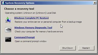 Как сбросить пароль на Windows Server 2008 R2