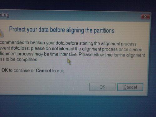 Сохранение данных перед началом WD Aling